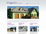 DOMETA - stavby na míru, výstavba rodinných domů