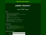 Domino - sklepy jubilerskie - agencja nieruchomości