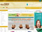 Lenzuola matrimoniali e singoli - Asciugamani spugna - Don Saro Il portale del corredo Shop Online