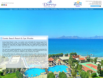 Doreta Beach Resort in Rhodes island, Doreta hotel on Theologos beach in Rhodes