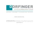 Elfriede Dorfinger - Steuerberatung, Mediation in Salzburg