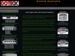 Doteck Digital fiber optic video, Audio system equipment Venues and Stadiums, OB trucks, ENG Truc