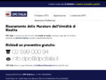 DPC Italia - Risanamento delle murature dall'umidità ascendente