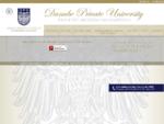 Die Danube Private University (DPU) ist eine privat finanzierte Institution mit den Studienangeboten