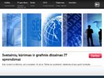 Interneto puslapių kūrimas | Grafinis dizainas | IT sprendimai verslui