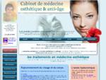 Medecine esthetique et anti age, Dr Dropsy à Toulon, La Seyne, Six-Fours, Bandol