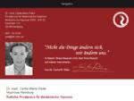 Ärztliche Hypnotherapie Hamburger Privatpraxis für Medizinische Hypnose von Dr. med. Carita Marie