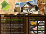 Drevené montované domy - EKO-mont, s. r. o.