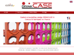 Casiers bouteilles DrinkCase. Design elegant, conccedil;us et fabriqueacute;s en France