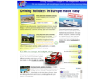 Self-drive holidays France Europe Ireland. Driving holidays in Italy and Spain. Motoring holidays ...