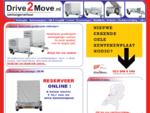 Drive 2 Move - Aanhangerverhuur, aanhanger verhuur, aanhangwagenverhuur, aanhangwagen verhuur.