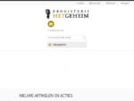 Home | Drogisterij Het Geheim | 20 korting | Het adres voor natuurlijke cosmetica | natuurlijke