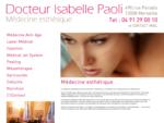 Dr Isabelle PAOLI - Médecine esthétique