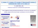 Beginpagina website S. van der Veen, arts.