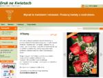 kwiaty online | r243;że, świeże kwiaty, r243;że z nadrukiem | dostawa tego samego dnia