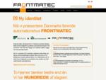 Frontmatec | Ny identitet