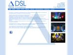 Home - DSL Geluids- Lichtverhuur, Professioneel verhuur en verkoop voor theater, festivals, pr