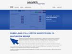 Dubbelklik full service audiovisueel en multimedia bedrijf