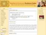 Meditační Klubovna Duchovní Srdce - Aktuality