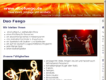 DuoFuego Feuershow Workshop Einrad Akrobatik