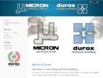 Micron e Durox - Nichelatura chimica e Anodizzazione dura