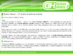 Programování kvalitních webových stránek a aplikací, SEO analýzy, správa linuxových serverů a jiná