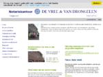 De Vree Van Drongelen - Home
