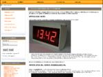 NTPclock , Webrelais , Vakantiehuis beveiliging, relais via internet, deweerd-emst Netwerk computer