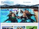 Dykkergitte - dykkercertifikat, dykning, dykkerrejser, dykkerudstyr og dykkerkurser i Koslash;be