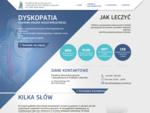 Operacje kręgosłupa, rwa kulszowa, dyskopatia lędźwiowa - Poznań