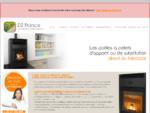 DZ France fabricant de poêles à pellet(granulés de bois), chaudières à granulés bois, inserts à p