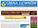 Informator Turystyczny Gminy Dziwnów =gt; Dziwnów, Dziwnówek, Łukęcin, Międzywodzie. Atrakcje tu