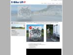 E-Bike lift PROSTOR HEEFT EINDELIJK EEN OPLOSSING VOOR DE ELEKTRISCHE FIETSEN!
