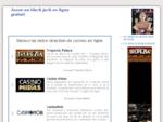 Black jack en ligne sans téléchargement