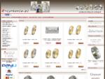 Obrączki ślubne, srebrne, złote, obrazki, grawer - Sklep Online