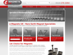 e-Magnets UK - Specialist Supplier of Neodymium Magnets, Rare Earth Magnets Permanent Magnets