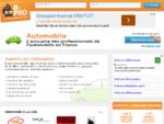 rarr; Annuaire des professionnels de l'Automobile rsaquo;rsaquo; e-pro Automobile
