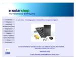 e-solarshop. gr - Φωτοβολταϊκά Συστήματα