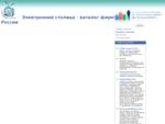 Электронная столица - каталог фирм России