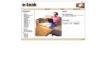 E-teak. se - Möbler, soffor, fåtöljer, bord, stolar
