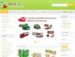 ŽAISLAI parduotuvė - žaislai, dviračiai, žaidimų aikštelės, prekės vaikams