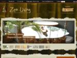 Zen Living | Έπιπλα Κήπου - Διακόσμηση Κήπου - Ethnic Έπιπλα - Zen Garden - Ethnic Οικιακά Είδη - E