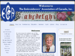 The Embroiderers' Association of Canada, Inc Welcome!