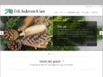 Erik Andersen Søn - Engroshandel af pyntegrønt og blomster