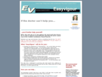 EasyVigour Home Page for quot;Self-Healthquot; Management