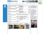 Internetové tržiště pro strojírenství - EBMservice. com