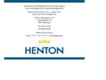 Henton Erhvervsmægler AS ansætter Erhvervsmægler, Statsaut. ejendomsmægler Valuar Martin Borup .