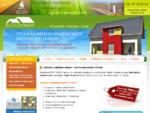 Výstavba rodinných domov pri Bratislave, montované domy horizont - Výstavba montované a tehlové dom