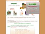 ECOBAG - Sacs, emballages et coffrets cadeaux en toile de jute et coton - Drocirc;me (france)