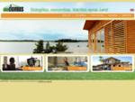 Surenkami karkasiniai namai - projektavimas, gamyba ir statyba